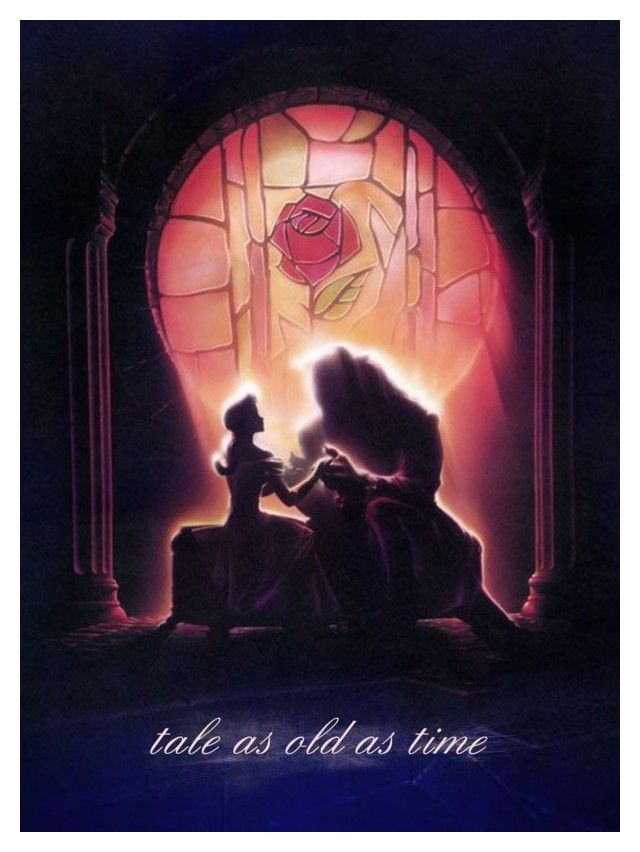 Tale As Old As Time by becnellie on Polyvore featuring art