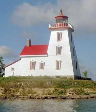 Strawberry Island, ON  Located on the northernmost point of Strawberry Island, roughly 5km east of Little Current
