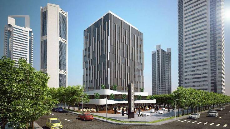 Proreis office tower on Eskişehir road in Ankara