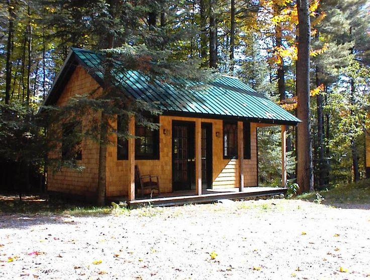16x20 Vermont Cottage A Example Shows Optional Cedar