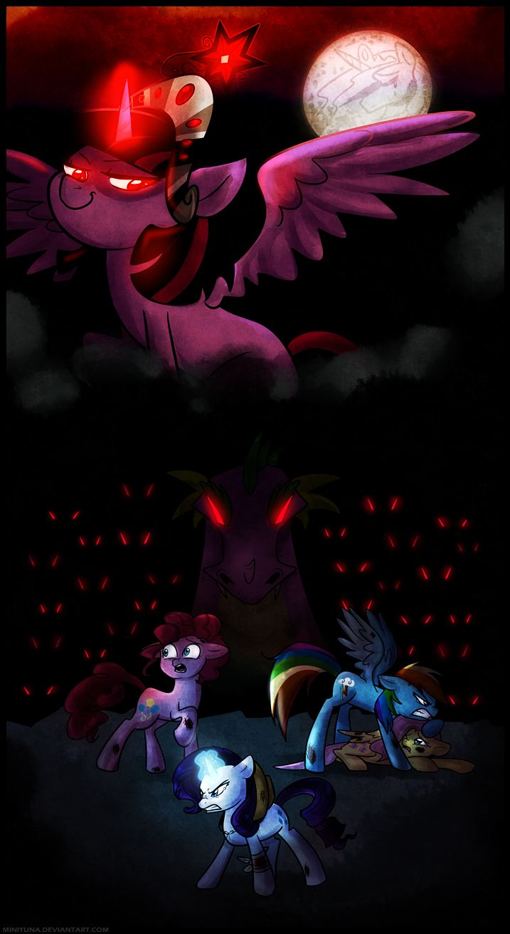 twilight sparkle evil overlordby miniyuna my little