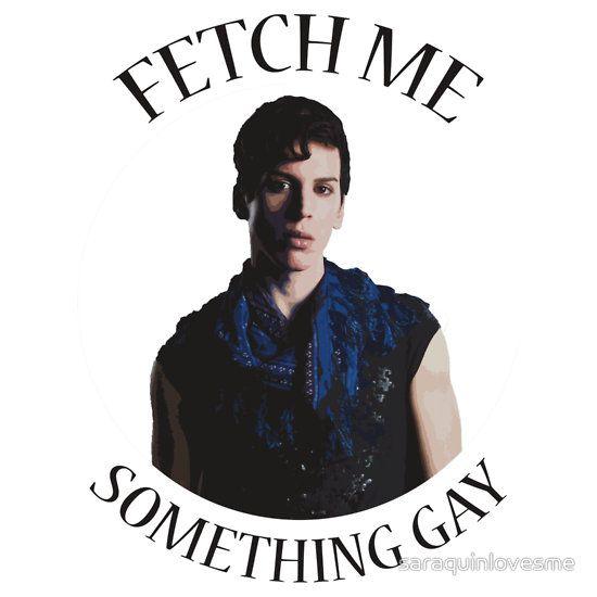"""Fetch me something gay"" Felix Dawkins from Orphan black by saraquinlovesme"
