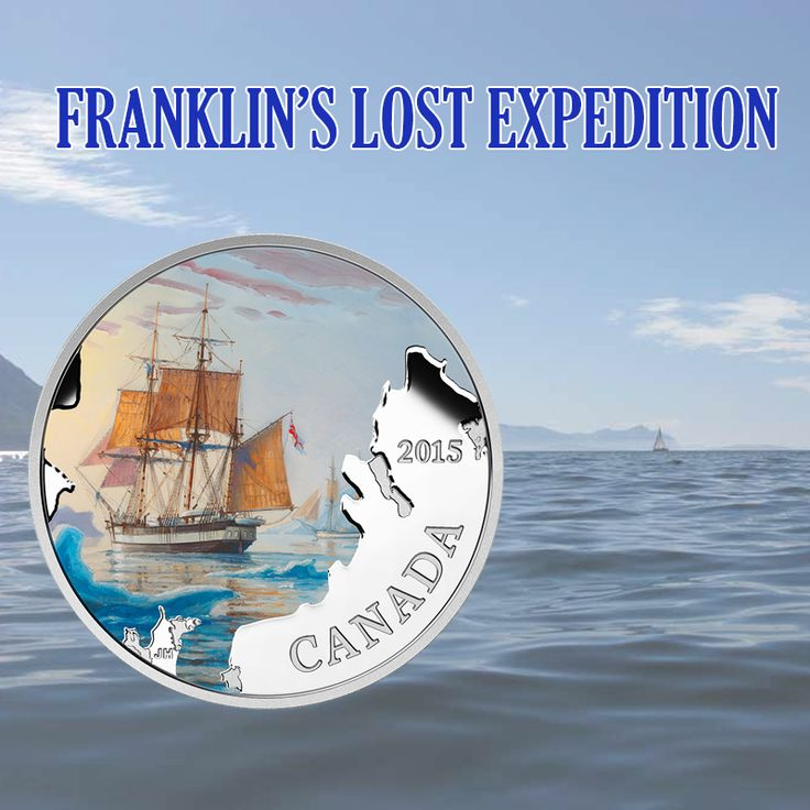 Check out this impressive coin of Franklin's Lost Expedition.