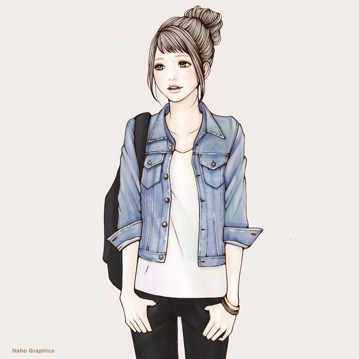 【web】http://naho.tv/ 【twitter】https://twitter.com/NahoGraphics 【Youtube】https://www.youtube.com/channel/UC81jOID4X2mNtjh47jp02oQ 【instragram】https://www.instagram.com/naho_note/  #illustration#drawing#art#design#fashion#hair#hairstyle#face#design#イラスト#イラストレーション#アート#女性イラスト#ドローイング#ipad#applepencil#procreate #手書き #絵 #make #メイク #女の子 #girl #woman #女性 #ファッション #お団子ヘア #Gジャン#リュック##ショートバング