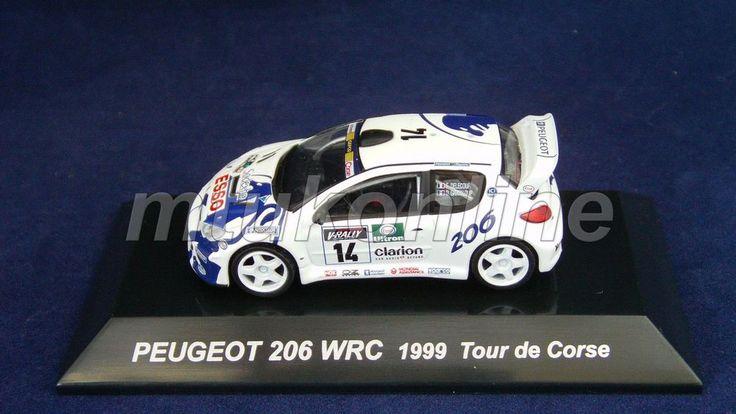 CM S RALLY CAR COLLECTION | SS8 | PEUGEOT 206 WRC 1999 TOUR DE CORSE | 1/64