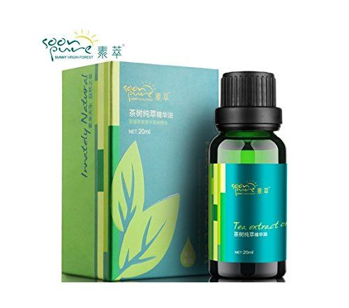 Tea Tree Pure Essential Oil Face Care Remover Blackhead Acne Scar Removal Cream Treatment Acne Spots Face Whitening Moisturizing *** Find out more about the great product at the image link.