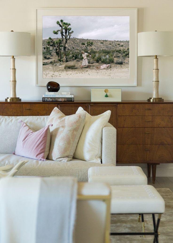 pretty inspiration modern credenza. Desert inspired art above a mid century modern credenza  91 best Mid Century Modern Design images on Pinterest