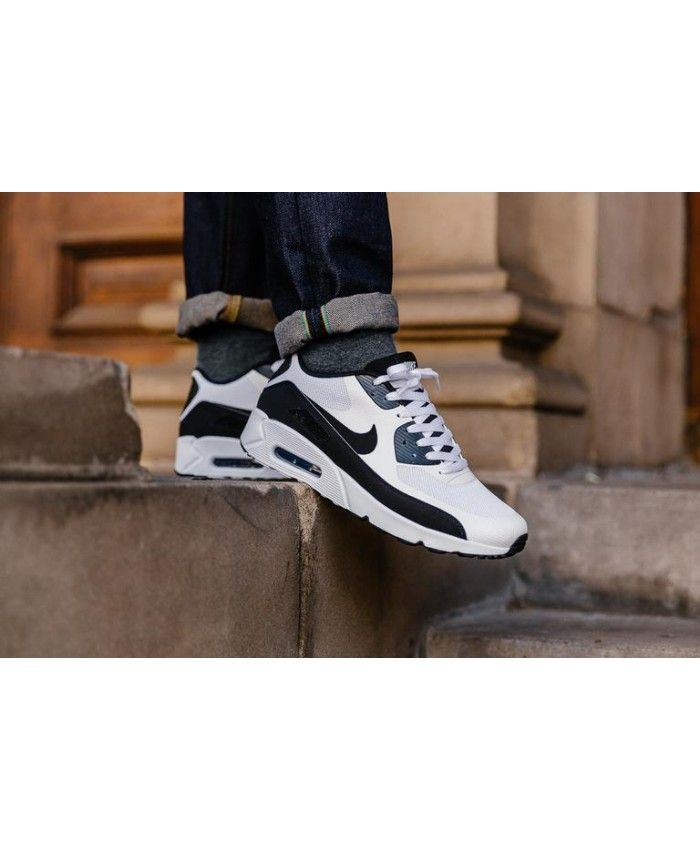 reputable site 356f6 4db78 Nike Air Max 90 Ultra 2.0 Essential White Black Men s Shoes