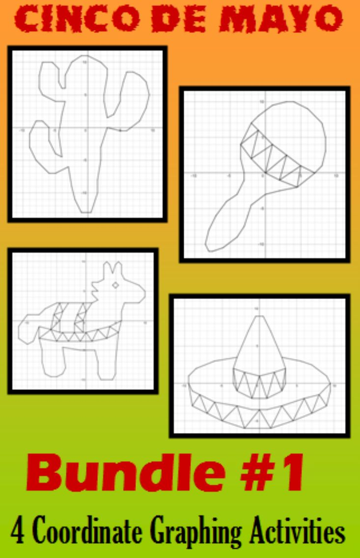 227 best draw using grids images on pinterest a drawing celebrate cinco de mayo with these 4 festive coordinate graphing activities each activity provides a falaconquin