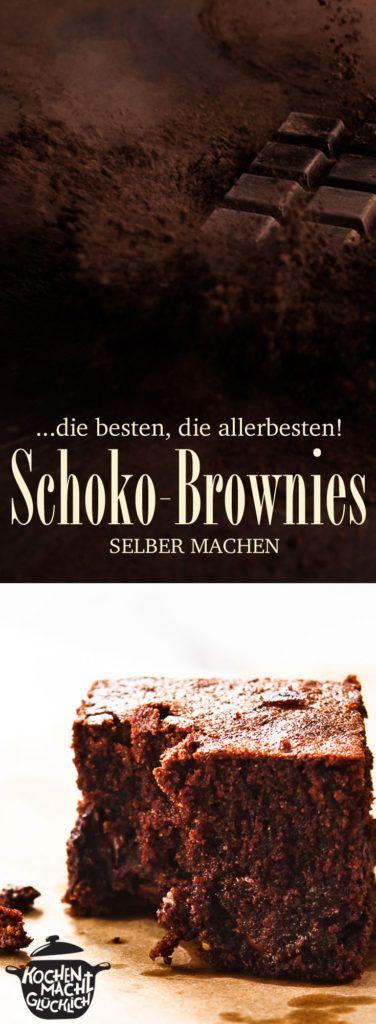 Rezept für wirklich großartige Brownies! Sooo saftig - einfach herrlich!