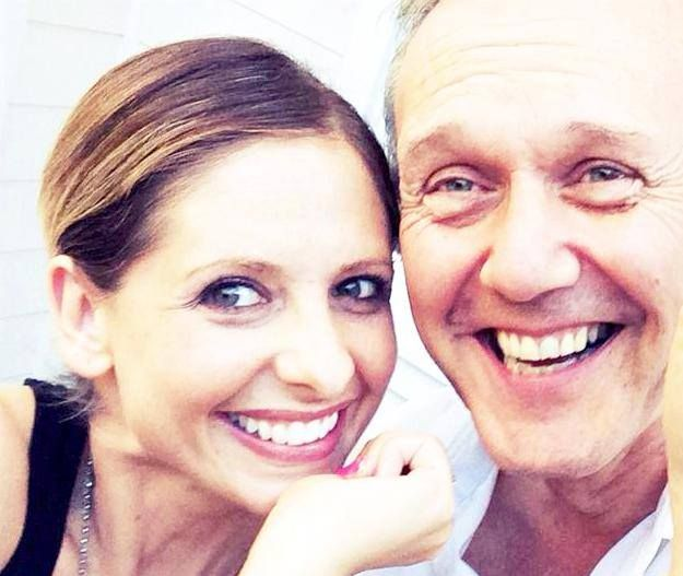 """""""When you do a project with someone they become your family. Even with Anthony Head being as far away as England, I still see him at least once a year. It's pretty incredible."""" - Sarah Michelle Gellar in an interview with 'Yahoo News Australia', 2014."""