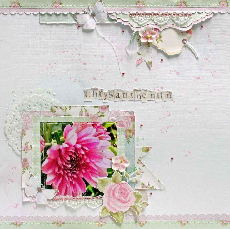 Kaisercraft True Romance  blue , pink green paint #566791 Cabriole Pink Mulberry Flowers mont marte - impasto scrapfx stencil - Random Dots stencil cotton,lace,mini doily