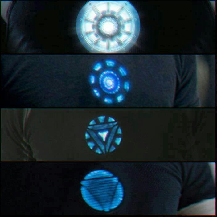 Chest of Tony Stark Iron Man 1,2 & 3 :) They forgot when he got the metal taken out and made into a necklace for Pepper.