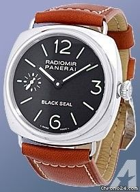 Panerai Limited Edition Gent's Stainless Steel Radiomir Black Seal Strapwatch [On Hold]