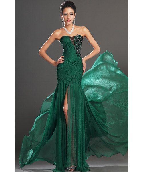 2013 New arrival evening dress/Trumpet long prom dress/Hunter long evening dresses/Sweetheart Evening Dress/long chiffon dress EF1088E