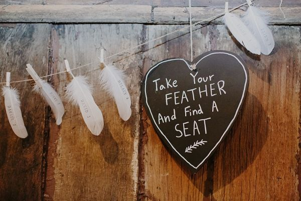 Feather Guestbook Wedding styling by Make Your Day makeyourdayweddingstyling.com.au Suzanne & Jeng