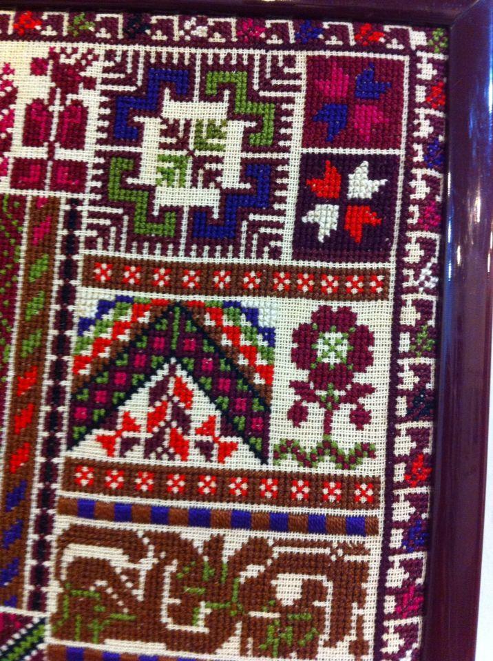 Palestenian cross stitch sue Shennek