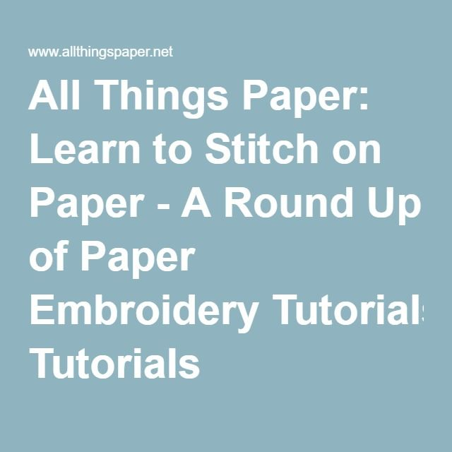 25+ parasta ideaa Pinterestissä Paper embroidery tutorial - graph paper template