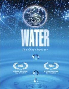 """water, le pouvoir secret de l'eau : """" L'eau est l'élément le plus important de la Terre : elle recouvre plus des 3/5ème de la surface du globe terrestre. Sans eau, pas de vie.  D'éminents scientifiques, écrivains et philosophes révèlent leurs découvertes sur l'eau et ses secrets.  Les conséquences vont au-delà du système solaire, ce qui suggère que l'eau a la capacité de transmettre des messages plus vite que la lumière. """""""