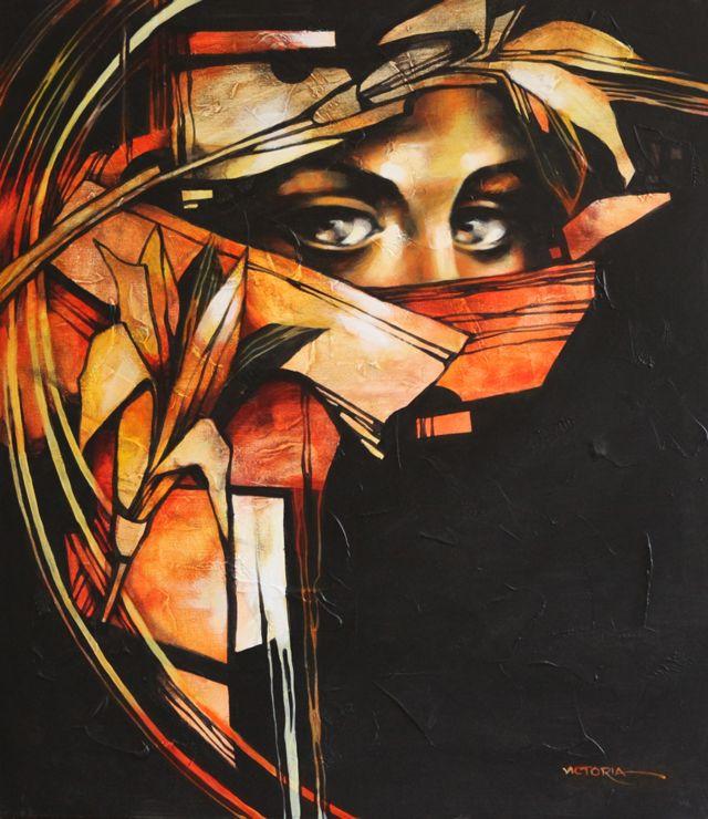 310.jpg (640×740) La pintora Victoria Stoyanova, de Bulgaria. Cada persona tiene su ideal sobre la belleza femenina.