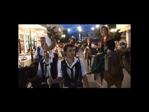 Παραδοσιακός Κρητικός Γάμος - traditional Cretan wedding (showing costumes.)