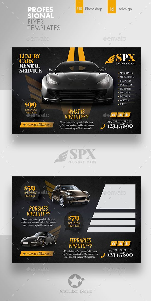 Rent A Car Postcard Templates Postcard Template Car Advertising Design Graphic Design Business Card