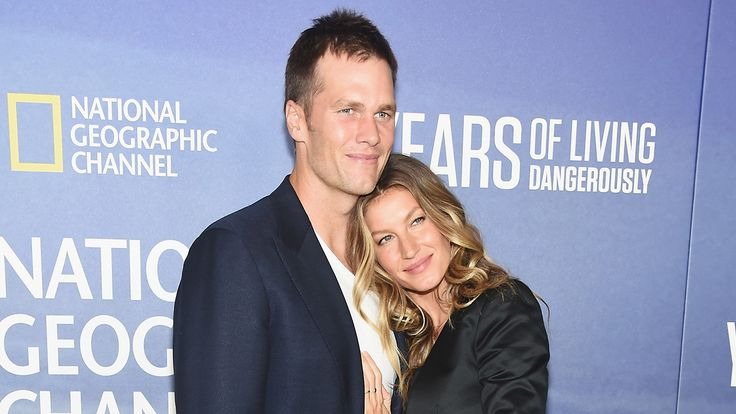 Gisele Bundchen and Tom Brady appear to be more in love than ever. The 37-year-old supermodel took to Instagram on Thursday to wish her husband a happy 40th birthday, sharing a sweet picture of the two cuddling.