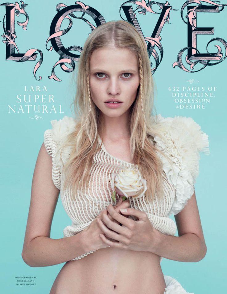 Lara Stone for Love Magazine F/W, by Mert & Marcus
