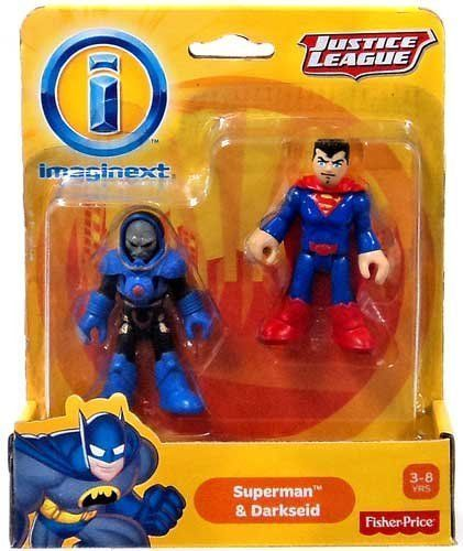 Fisher-Price Imaginext Superman & Darkseid Justice League DC Super Friends #FisherPrice