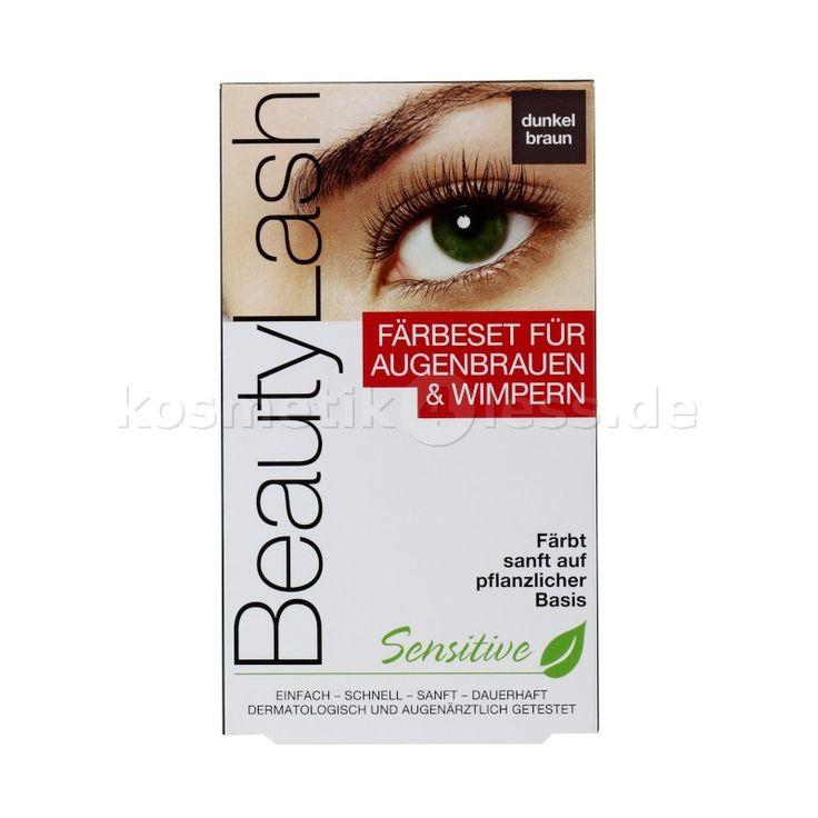 Beauty Lash - Färbeset für Augenbrauen und Wimpern - Dunkel Braun - Kosmetik & Falsche Wimpern