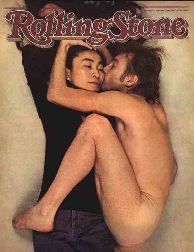 ROLLING STONE MAGAZINE, JAN. 22, 1981 NO. 335, Nude John Lennon and & Yoko Ono Cover by Various http://www.amazon.com/dp/B000V3WILA/ref=cm_sw_r_pi_dp_z.edxb0CEHM27