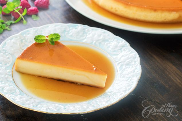 Cheesecake Flan :: Home Cooking Adventure