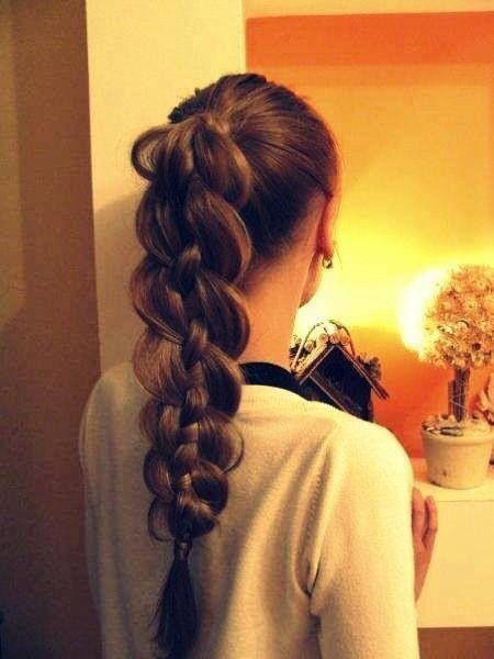 unique hair braid
