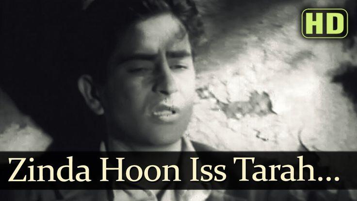 Zinda Hoon Is Tarah Ke - Raj Kapoor - Kamini Kaushal - Aag - Bollywood C...