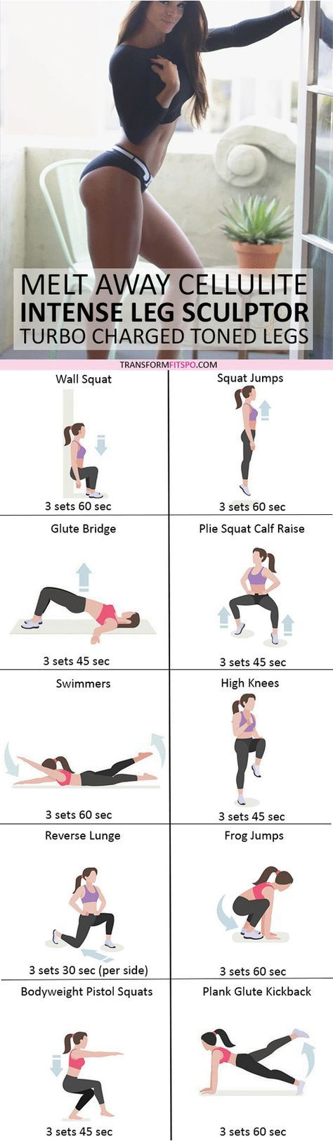 #womensworkout #workout #femalefitness Repin and share if this workout gave you sexy sculpted legs! Click the pin for the full workout.