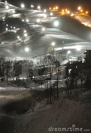 Snowboarding and skiing area at Grand Hirafu, Niseko in Japan. © Junkgirl