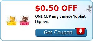New Coupon!  $0.50 off ONE CUP any variety Yoplait Dippers - http://www.stacyssavings.com/new-coupon-0-50-off-one-cup-any-variety-yoplait-dippers/