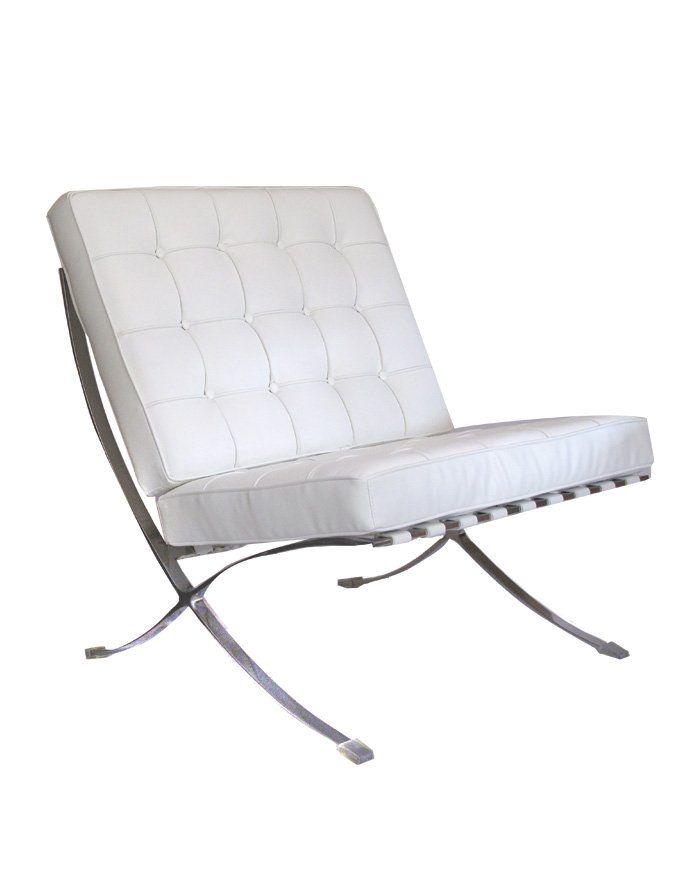 replica barcelona chair premium white replica barcelona chair premium