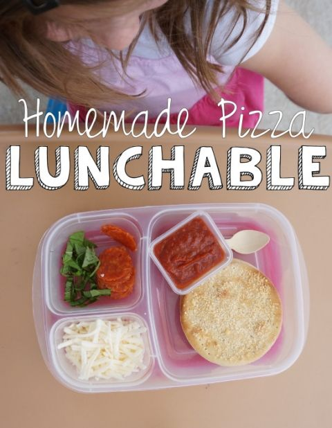 Homemade Pizza Lunchable by The Catepillar Years