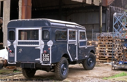 Land-Rover Series I LWB Station Wagon version was available in 1956