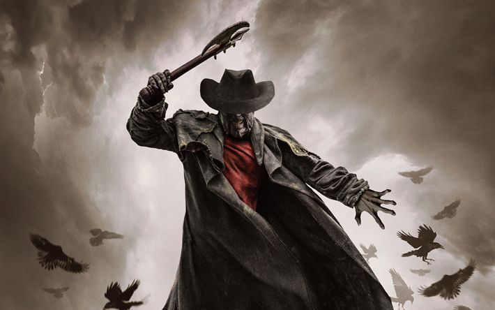 Download wallpapers Jeepers Creepers 3, poster, 4k, 2017 movie, Thriller, Jeepers Creepers III