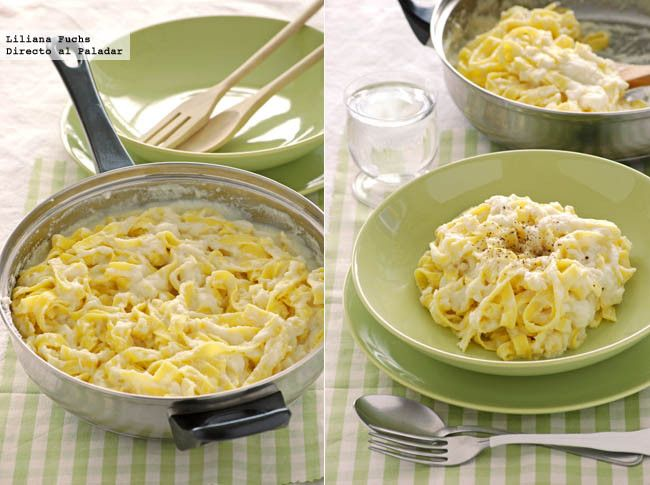 Cremosa salsa con coliflor escondida para pasta