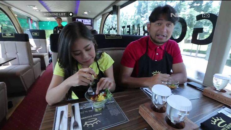 Marsya & Shinta mencoba Street Gourmet (Kuliner didalam mobil yang sedang berjalan)