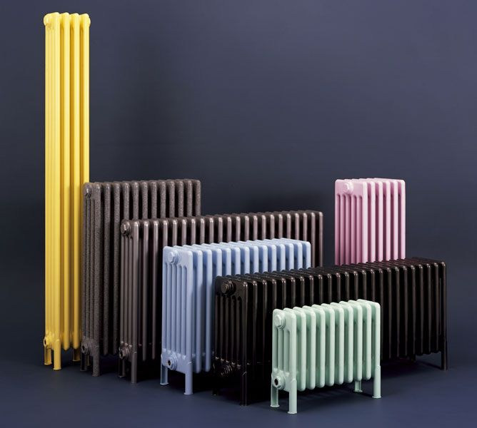 Radiators - Contemporary, designer, stainless steel, aluminium