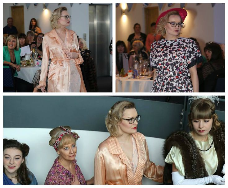 Vintage afternoon tea and fashion show in Dundee