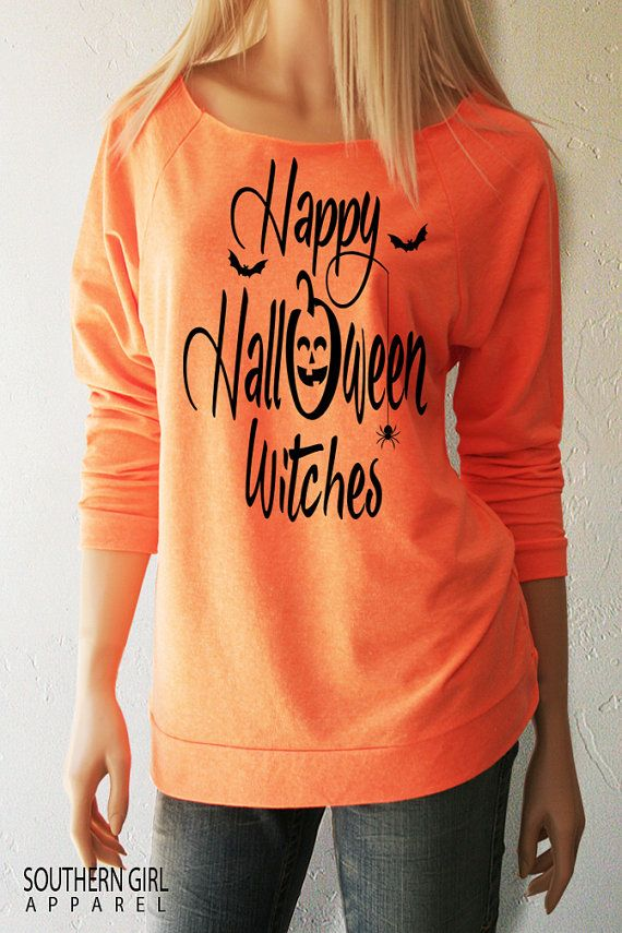 Halloween Shirts. Happy Halloween Witches. by SouthernGirlApparel