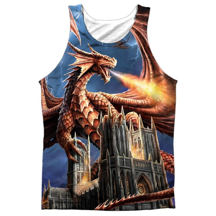 "Checkout our #LicensedGear products FREE SHIPPING + 10% OFF Coupon Code ""Official"" Anne Stokes/dragon's Fury -adult 100% Poly Tank T- Shirt - Anne Stokes/dragon's Fury -adult 100% Poly Tank T- Shirt - Price: $24.99. Buy now at https://officiallylicensedgear.com/anne-stokes-dragon-s-fury-adult-100-poly-tank-shirt-licensed"