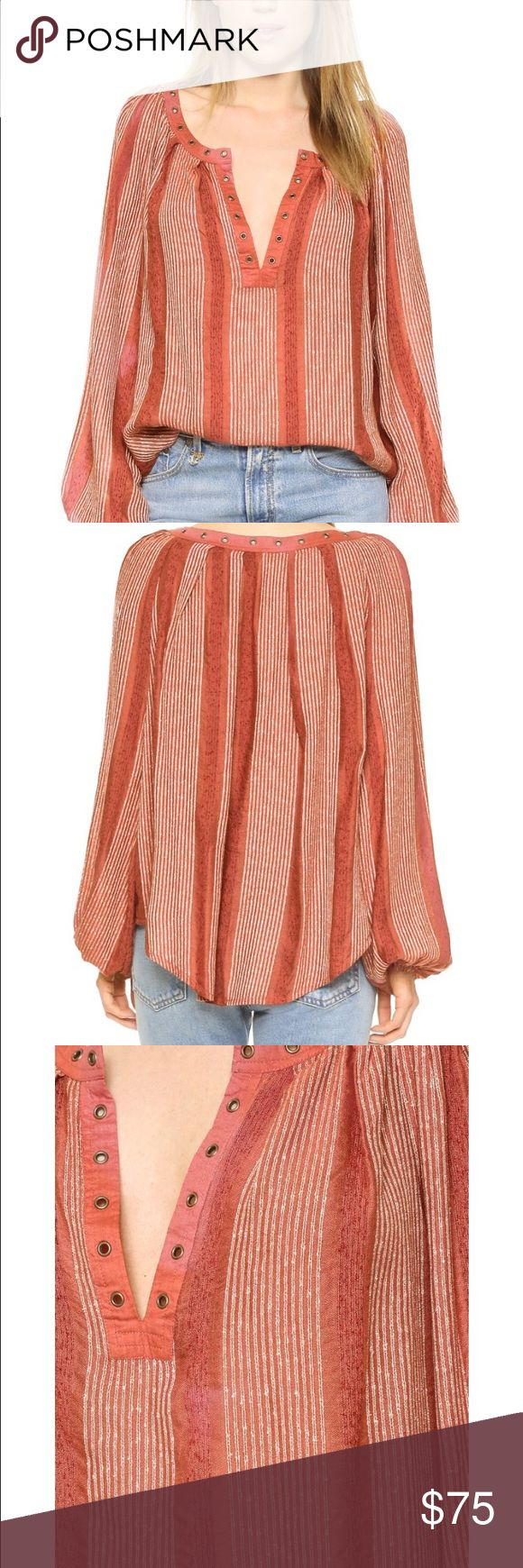 NWT Free People bohemian blouse Size xs Free People Tops Blouses