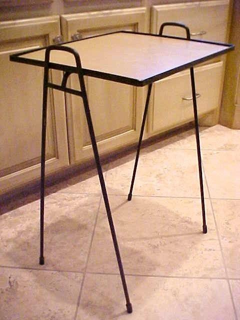 Salterini Patio Furniture Parts: 16 Best Vintage Metal Porch Tables Images On Pinterest