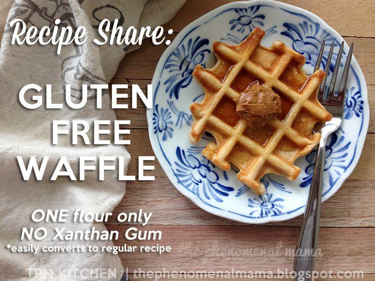 The Phenomenal Mama: The Best-est Gluten Free Waffles